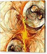 Fiery Birth Canvas Print