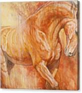 Fiery Spirit Canvas Print