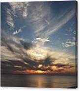 Fiery Sunset Skys Canvas Print