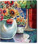 Fiesta Blooms Canvas Print