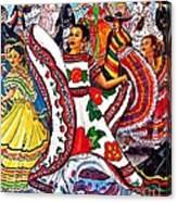 Fiesta Parade Canvas Print