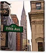 Fifth Ave. Canvas Print