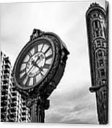 Fifth Avenue Building Clock Canvas Print