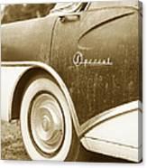 Fifties Buick Canvas Print