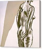 Figure Collage Canvas Print