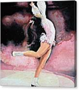 Figure Skater 20 Canvas Print