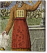 Figure Symbolizing Judaism Canvas Print