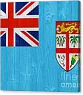 Fiji Flag Canvas Print