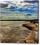 Filey Beach Canvas Print