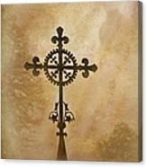 Filigree Cross The Forgotten Series 10 Canvas Print