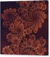 Filigree Dragon Canvas Print