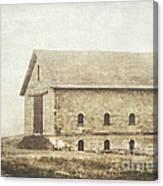 Filley Stone Barn Canvas Print