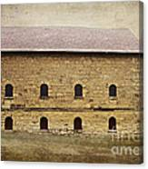 Filley Stone Barn South Side Canvas Print
