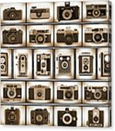 Film Camera Proofs Canvas Print