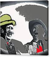 Film Homage Andy Devine  Chill Wills Old Tucson Arizona 1971-2009  Canvas Print
