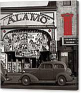 Film Homage Bela Lugosi Shadow Of Chinatown 1936 John Vachon Fsa Alamo Theater Washington D.c. 2010 Canvas Print