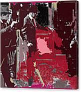 Film Homage Cameraman Billy Bitzer Director D.w. Griffith Collage Circa 1912-2012 Canvas Print