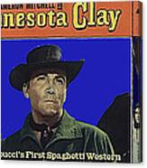 Film Homage Cameron Mitchell Minnesota Clay Lobby Card 1964-2013 Canvas Print