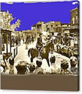 Film Homage Cameron Mitchell The High Chaparral Main Street Old Tucson Az Publicity Photo Canvas Print