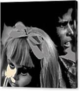 Film Homage Collage Brothers Quay Street Of Crocodiles Black Girl Doll Tucson Arizona 1970-2011 Canvas Print