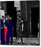 Film Homage Cool Hand Luke 1967 Paddy Wagon Porn Theater Pilgrim Theater Boston Ma 1977-2008 Canvas Print