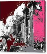 Film Homage D.w. Griffith Intolerance 1916 Fall Of Babylon 1916-2012  Canvas Print