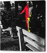 Film Homage Elmer Gantry 2 1960 Street Preacher Armory Park Tucson Arizona Canvas Print