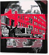 Film Homage Funeral In Berlin 1966 Orpheum Winter Carnival Parade Collage St. Paul Mn 1967-2008  Canvas Print