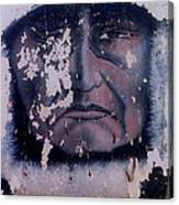Film Homage  Iron Eyes Cody The Big Trail 1930 Crying Indian Black Canyon Arizona 2004-2008  Canvas Print