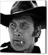 Film Homage Jack Palance Monte Walsh Set Old Tucson Arizona 1969 Canvas Print