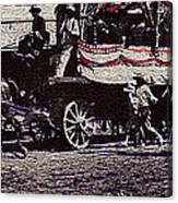Film Homage James Cagney Yankee Doodle Dandy 1942  East Congress  Tucson Arizona C. 1890-2008       Canvas Print