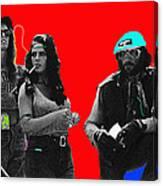 Film Homage Joe Namath C.c. And Company Golder Dam Near Tucson Arizona 1970-2009 Canvas Print