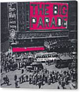 Film Homage John Gilbert King Vidor The Big Parade 1925 Color Added 2010 Canvas Print