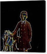 Film Homage John Mills Rocking Horse Winner 1949 Tucson Arizona Circa 1890-2008 Canvas Print