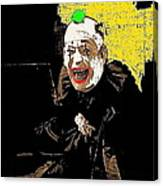Film Homage Lon Chaney He Who Gets Slapped 1924 Color Added 2008 Canvas Print