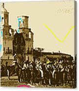 Film Homage Rouben Mamoulian  Ida Lupino  The Gay Desperado 1 1936 San Xavier Tucson Canvas Print