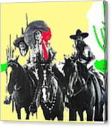 Film Homage The Gay Desperado 1936 Chris-pin Martin  Nino Martini Saguaro  Nat'l Monument Tucson Canvas Print