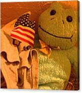 Film Homage The Muppet Movie 1979  Number 2 Froggie Smudge Stick Casa Grande Az 2004-2009 Canvas Print