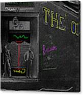 Film Homage The Quiet Man 1952 The Old Corner Saloon  Red Light District Tucson Arizona C.1880-2008  Canvas Print