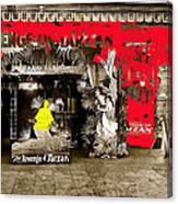 Film Homage The Revenge Of Tarzan Criterion Theater Washington Dc. 1920-2010 Canvas Print