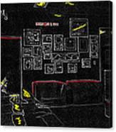 Film Homage Tora Tora Tora 1970 Uss Arizona Memorial U Of A 1985-2008 Canvas Print