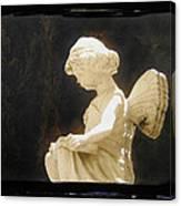 Film Noir Cinematographer Harry Wild Claire Trevor Johnny Angel 1945 Statue Arizona City Az 2005 Canvas Print