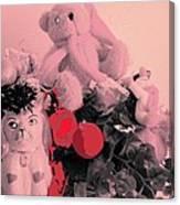 Film Noir Deanna Durbin Christmas Holiday 1944 Xmas Decorations Casa Grande Arizona 2005  Canvas Print
