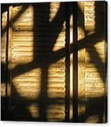 Film Noir Dick Powell Edward Dmytryk Cornered 1945 Building Interior Shadows Coolidge Arizona  2004 Canvas Print