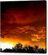 Film Noir Errol Morris The Dark Wind 1991 Casa Grande Arizona 2004 Canvas Print