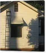Film Noir John Garfield Lana Turner The Postman Always Rings Twice Ladder House Black Canyon Az Canvas Print