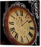 Film Noir Ray Milland Charles Laughton John Farrow The Big Clock 1948 Clock Casa Grande Arizona 2004 Canvas Print