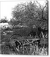 Film Noir Robert Ryan Ida Lupino On Dangerous Ground 1952 2 Wagon Snow Aberdeen Sd 1965 Canvas Print