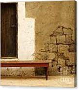 Village Doorway Canvas Print