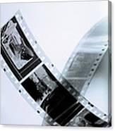Film Strips Canvas Print